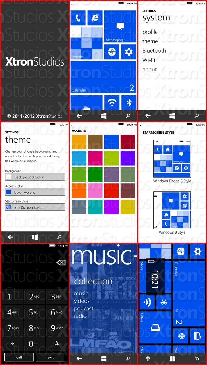 windows phone 8 style emulator for s60v5