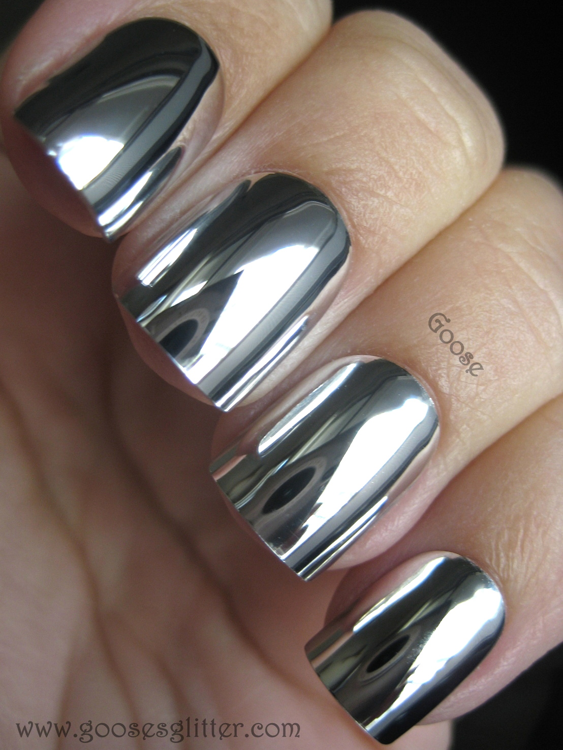 My new addiction: Metallic Minx Nails! Like it? Or maybe not? · Talk ...