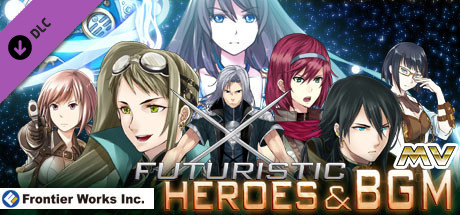 RPG Maker MV - Frontier Works: Futuristic Heroes and BGM free