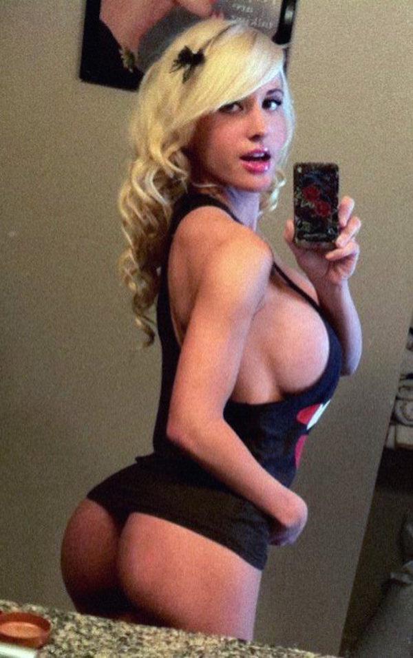 Big ass blonde girl — 9