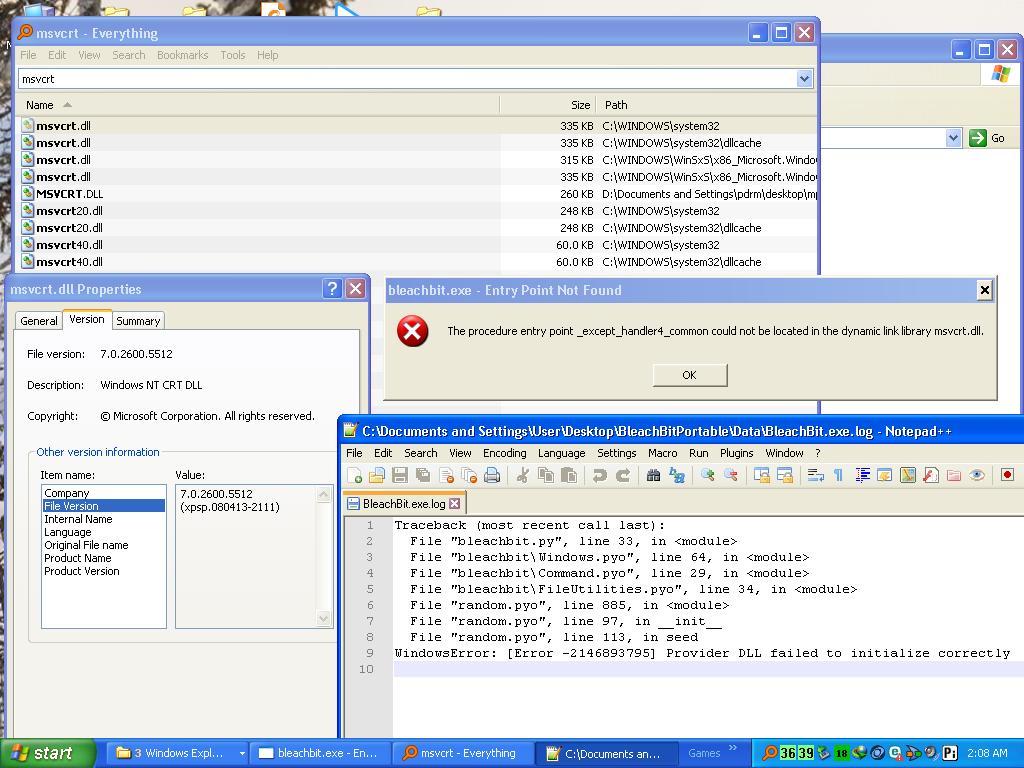 Point_except_handler4_common download xp | Fix file problem