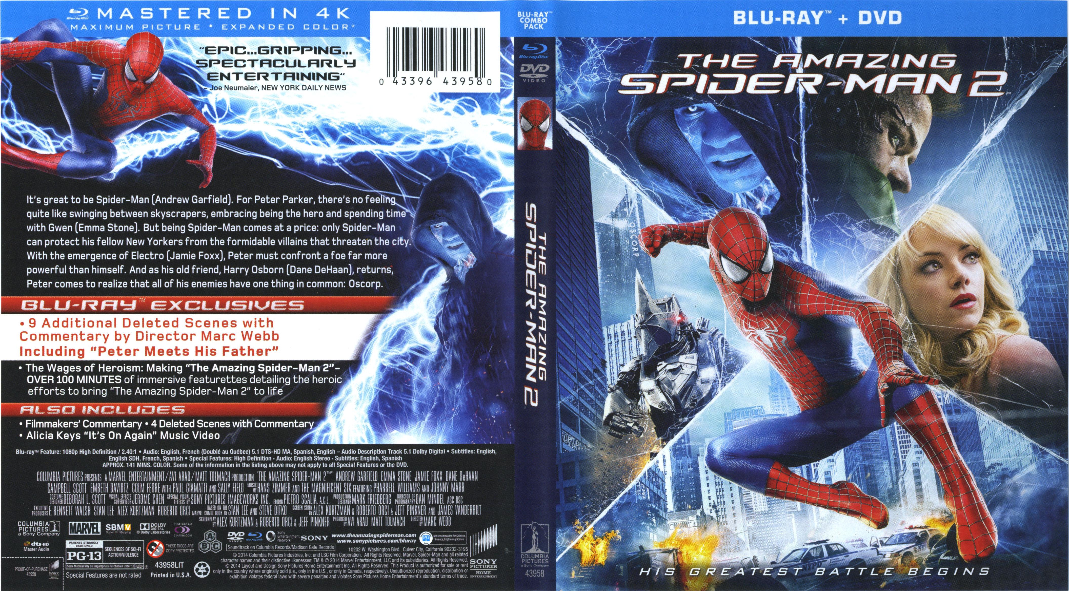 amazing spider man 2 dual audio kickass