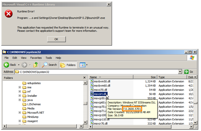 msvcp71.dll windows 8.1 64 bit download