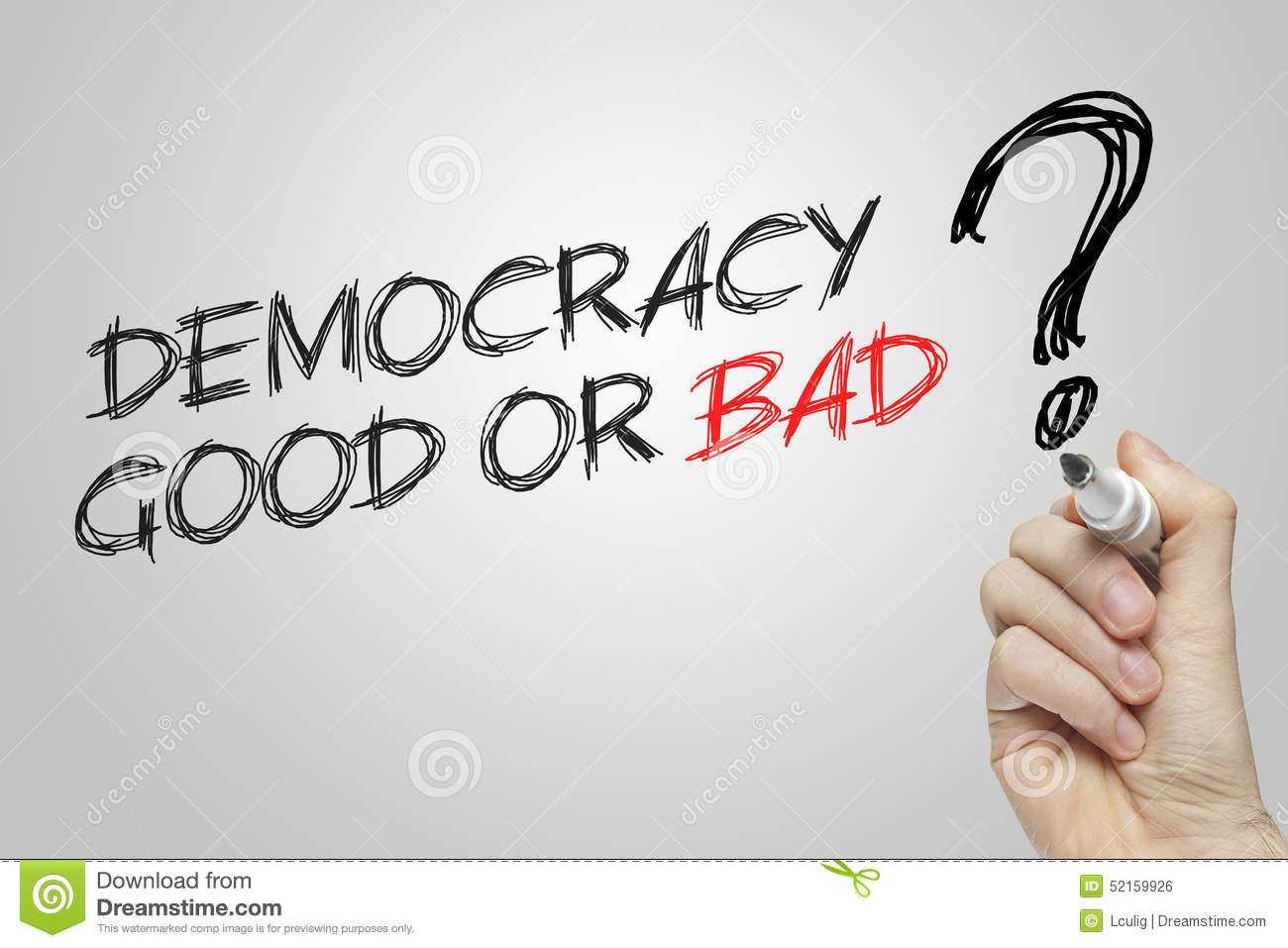 democracy is good or bad for india Sc's negative voting verdict, good or bad for democracy india is often being quoted as largest, youngest and most vibrant democracy where political representatives functions in best interest of its people.