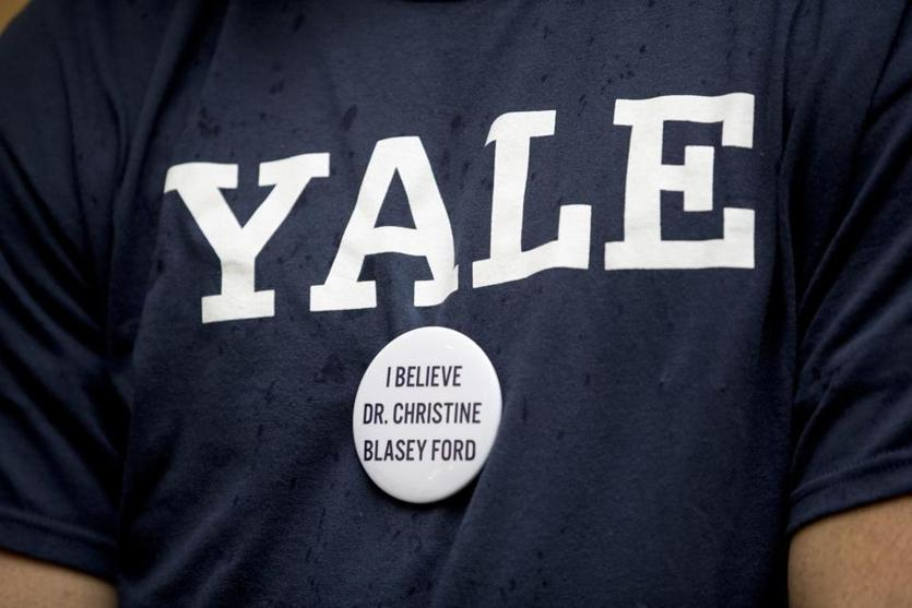 Yale cancels classes as law students protest Brett Kavanaugh