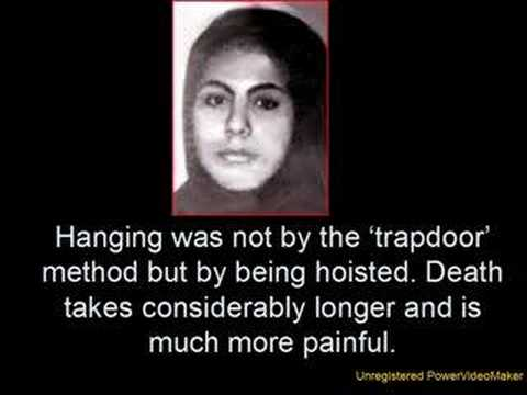 Image result for Iran executed a 16-year-old rape victim - Muslim mob cheered as she was hanged in public square