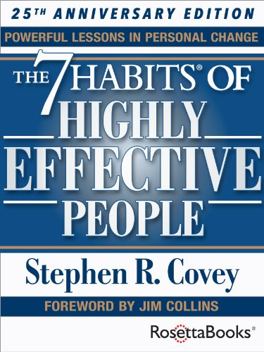 The 7 habits of highly effective people & the 8th habit audiobook.