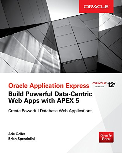naahvi: Download & Read 'Oracle Application Express (APEX