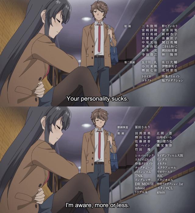 Your Personality Sucks · Anime Now · Disqus