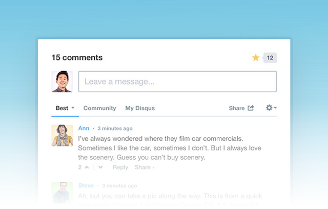 Add Disqus to Your Site