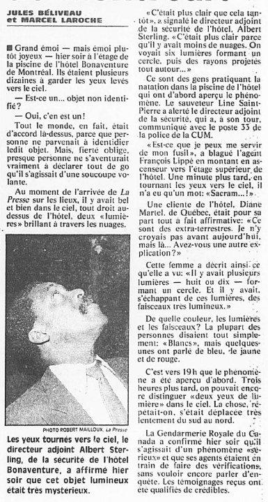 Montreal - 7/11/1990 - Un drôle d'oiseau Original