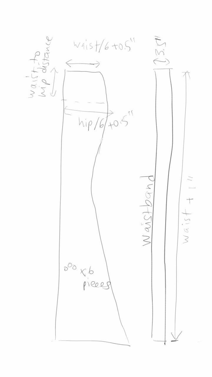 how to make a short mermaid skirt