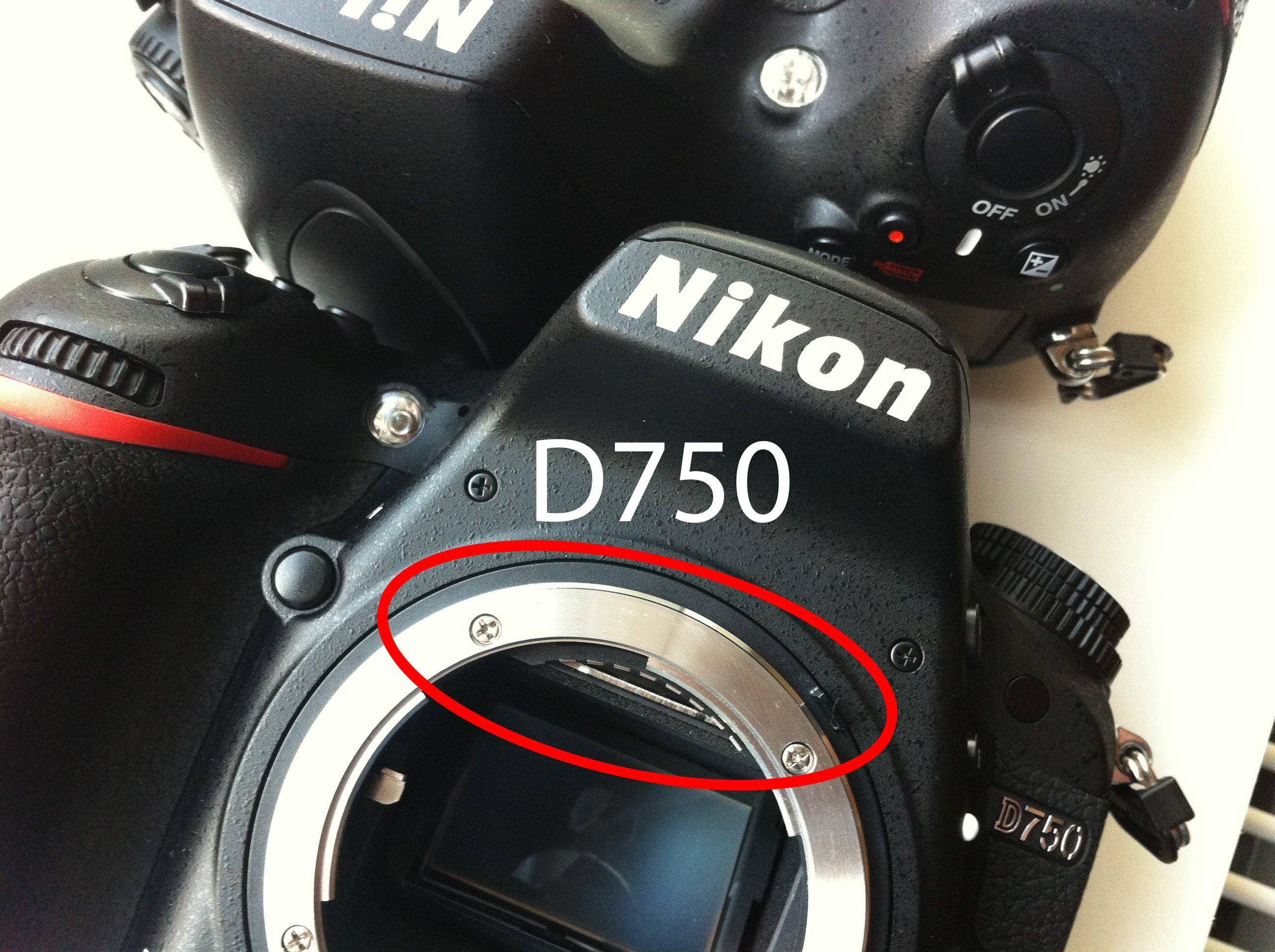 Re: Nikon D750 internal reflection issue?: Nikon FX SLR (DF