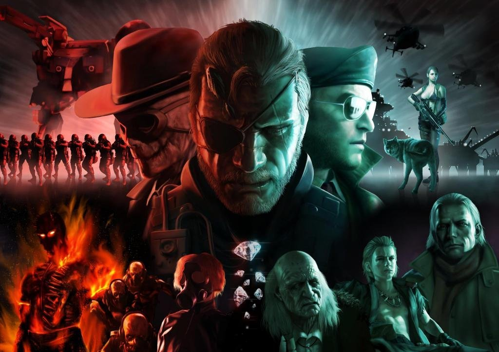 new unofficial art for mgsv the phantom pain metalgearsolid
