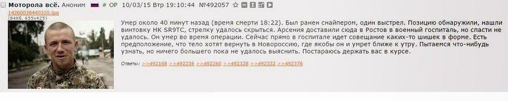 За сутки погиб один украинский воин, четверо - ранены, - Генштаб - Цензор.НЕТ 5185