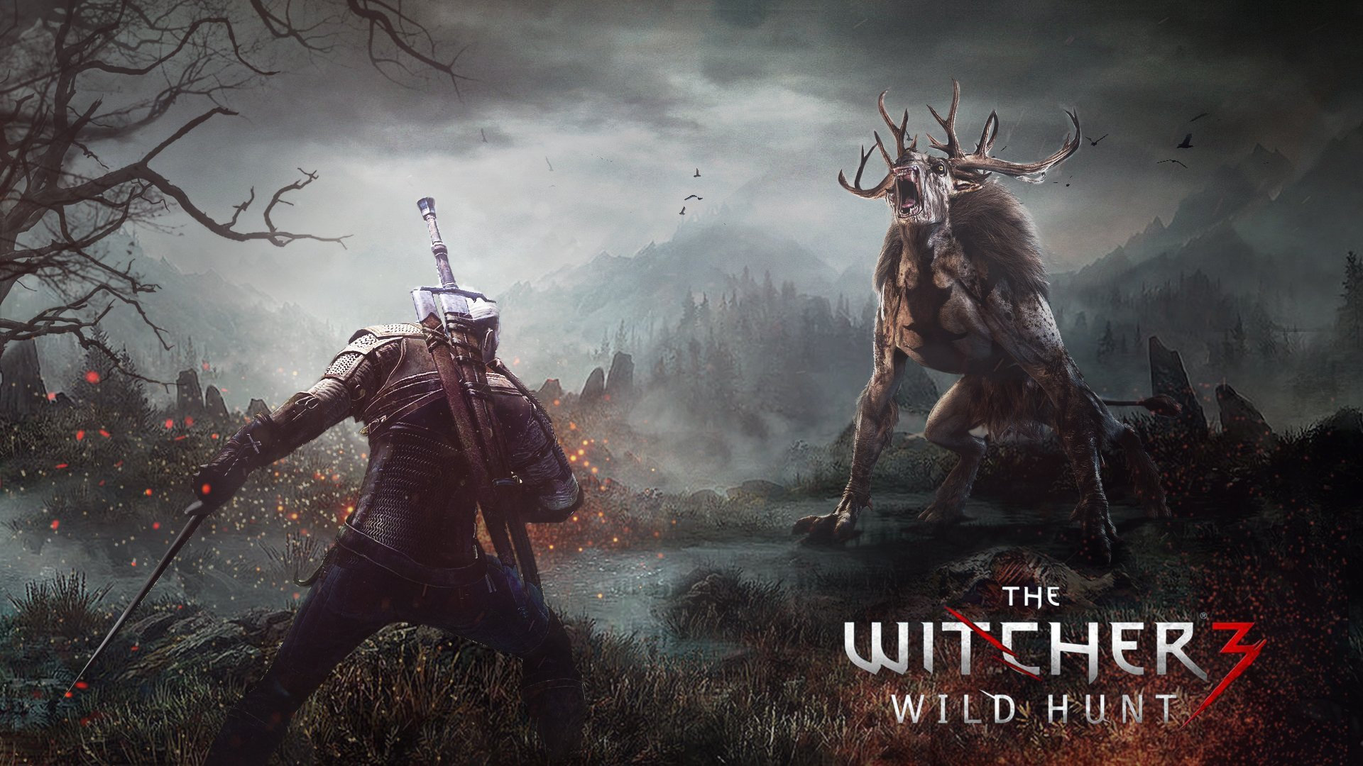 compositing photoshop the witcher 3