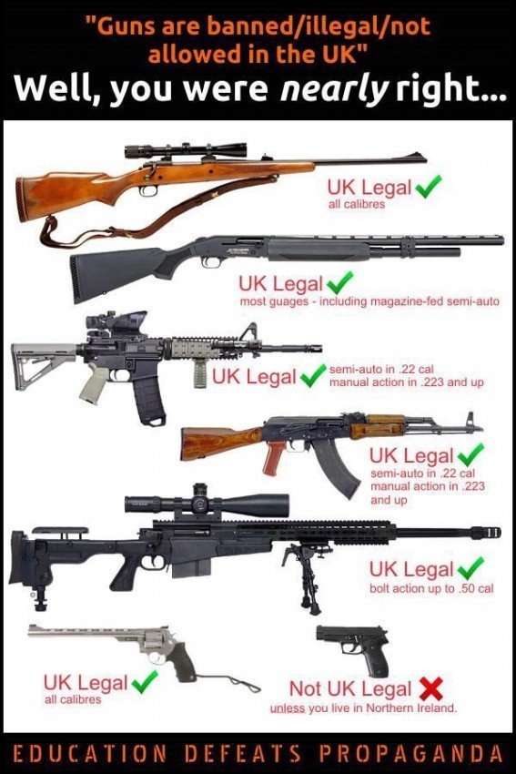 Uk gun laws what if shaver wants to arm up page 2 for Ga fishing license for senior citizens