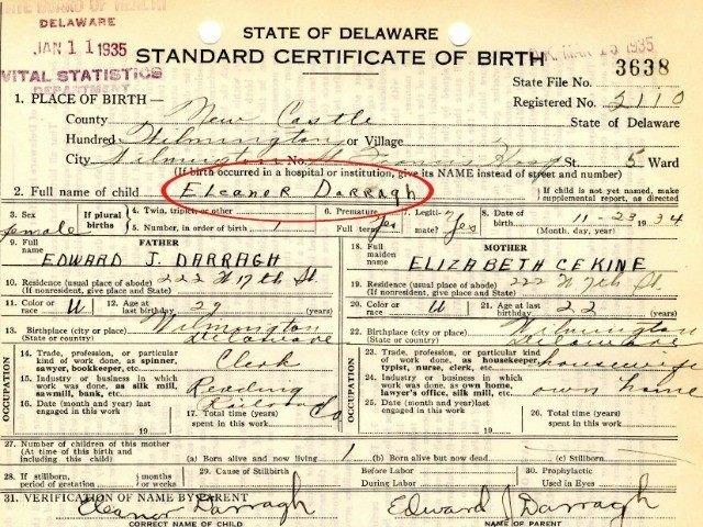 certificate birth cruz ted mother eleanor darragh delaware elizabeth wilson born 1934 fake citizenship breitbart releases california texas obama form