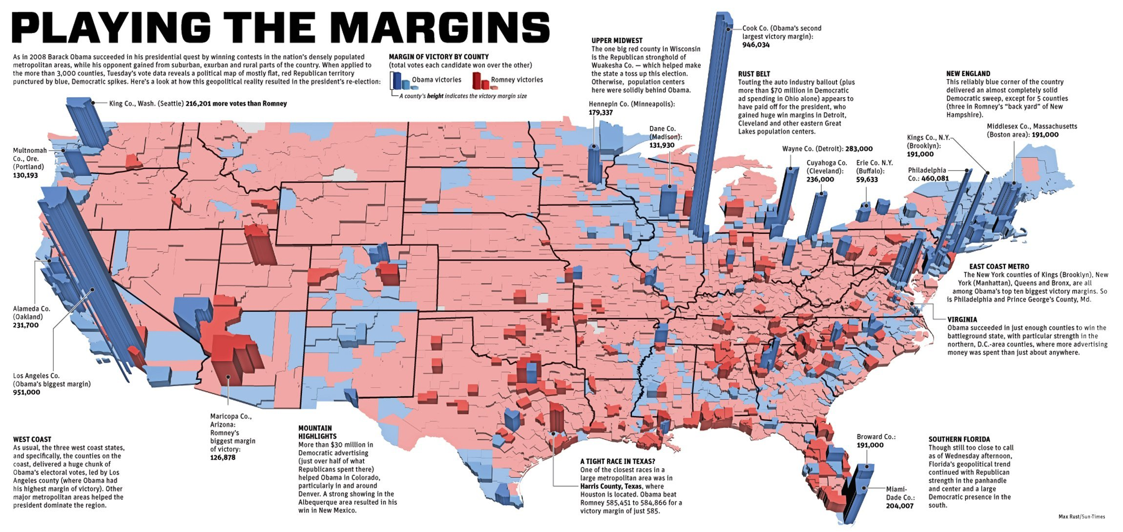 Larry J Sabatos Crystal Ball Mapping The United States 2012 Us Election Map