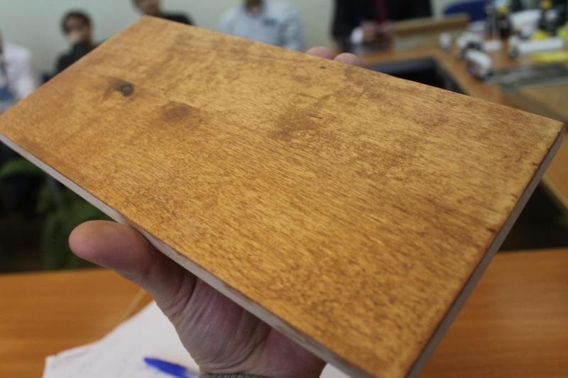 Покраска мебели своими руками  Работа маслом по фанере