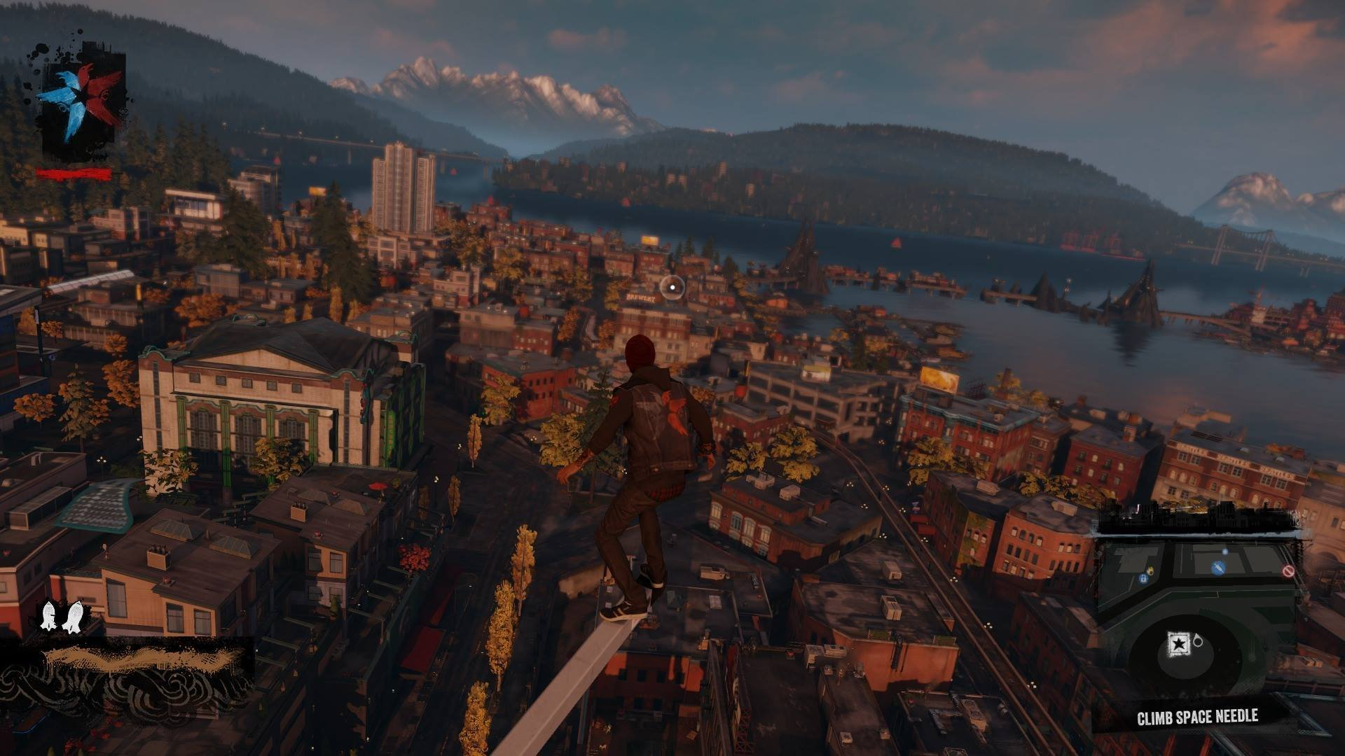 The World of inFamous: Second Son is Huge. : PS4 on driveclub map, the golden compass map, far cry map, jetpack joyride map, mad max map, bionic commando map, midnight club map, assassin's creed iii map, pac-man world 2 map, dynasty warriors 8 map, arkham city map, dragon age: inquisition map, transformers revenge of the fallen map, wild arms 2 map, l.a. noire map, dying light map, the legend of zelda map, midtown madness map, defense of the ancients map,
