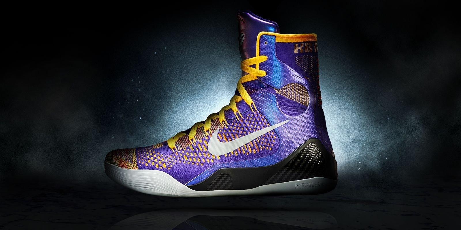 "e9ebad325b7 ... NBA 2K14 (  Kobe 9 Elite ""Perspective""  Screenshots. nike shox grey  orange ..."